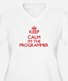 Keep calm I'm the Programmer Plus Size T-Shirt