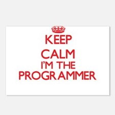 Keep calm I'm the Program Postcards (Package of 8)