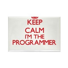 Keep calm I'm the Programmer Magnets