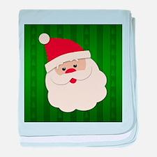 Santa Face baby blanket