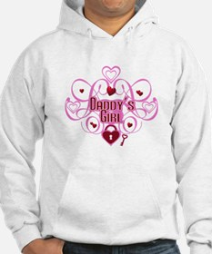 Daddy's Girl Pink/Red Hoodie