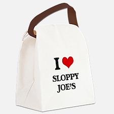 sloppy joe's Canvas Lunch Bag