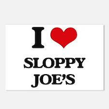 sloppy joe's Postcards (Package of 8)