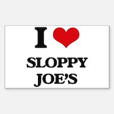 sloppy joe's Decal
