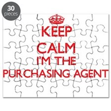 Keep calm I'm the Purchasing Agent Puzzle