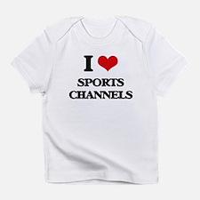 sports channels Infant T-Shirt