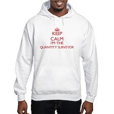 Keep calm I'm the Quantity Surve Hoodie