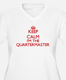 Keep calm I'm the Quartermaster Plus Size T-Shirt