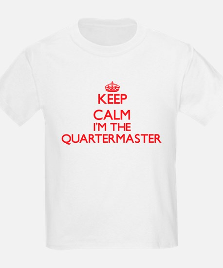 Keep calm I'm the Quartermaster T-Shirt