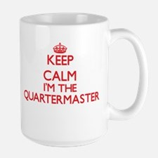 Keep calm I'm the Quartermaster Mugs