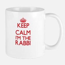 Keep calm I'm the Rabbi Mugs