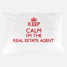 Keep calm I'm the Real Estate Agent Pillow Case
