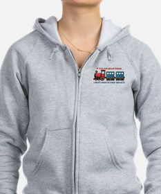 Train Talk Zip Hoodie