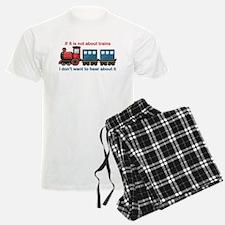 Train Talk Pajamas