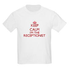 Keep calm I'm the Receptionist T-Shirt
