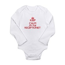 Keep calm I'm the Receptionist Body Suit