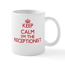 Keep calm I'm the Receptionist Mugs