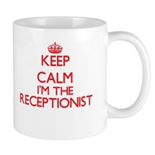 Keep calm I'm the Receptionist Mugs