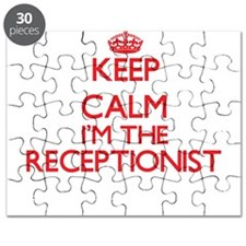 Keep calm I'm the Receptionist Puzzle