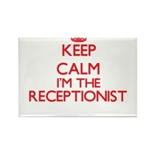 Keep calm I'm the Receptionist Magnets