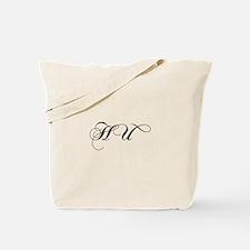 HU-cho black Tote Bag