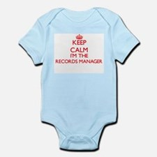 Keep calm I'm the Records Manager Body Suit