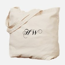 HW-cho black Tote Bag