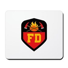 FIRE DEPT Mousepad