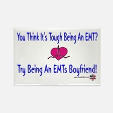 EMTs Boyfriend Rectangle Magnet