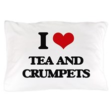 tea and crumpets Pillow Case