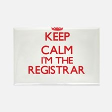 Keep calm I'm the Registrar Magnets