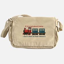 Train Talk Messenger Bag