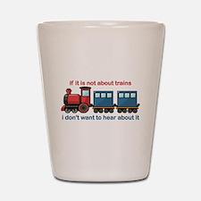 Train Talk Shot Glass