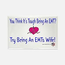 EMTs Wife Rectangle Magnet