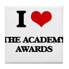 the academy awards Tile Coaster