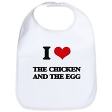 the chicken and the egg Bib