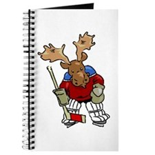 Moose Playing Hockey Journal