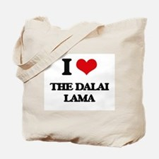 the dalai lama Tote Bag