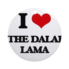 the dalai lama Ornament (Round)