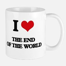 the end of the world Mugs