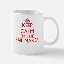 Keep calm I'm the Sail Maker Mugs