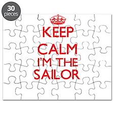 Keep calm I'm the Sailor Puzzle