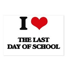 the last day of school Postcards (Package of 8)