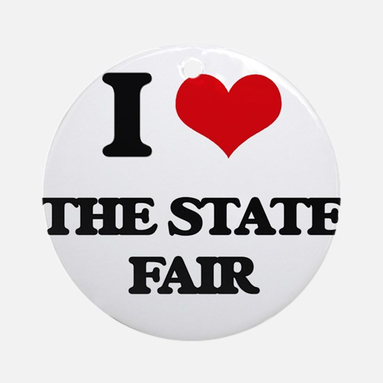 the state fair Ornament (Round)