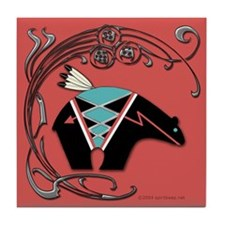 Bear Fetish #2 Tile Coaster