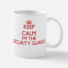 Keep calm I'm the Security Guard Mugs