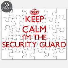 Keep calm I'm the Security Guard Puzzle