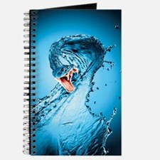 Water Snake Graphic Illustration Journal