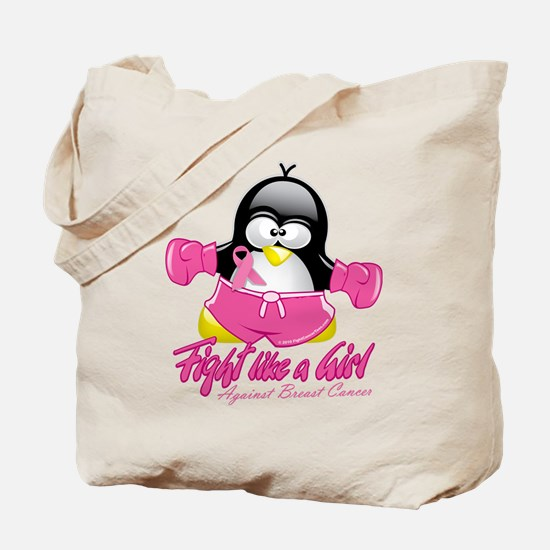 BC Fighting Penguin Tote Bag