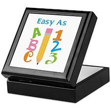 EASY AS ABC Keepsake Box